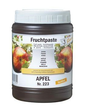 Apfel Konditoreipaste
