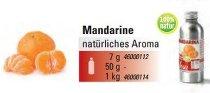 Mandarine Aroma natürlich 'Essenz' (50g)