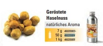 Haselnuss Geröstet Aroma natürlich (50g)
