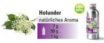@ Holunder-blüten Aroma natürlich (50g)