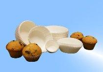 Gebäckkapseln weiß D70/H20 mm (1000 Stk)