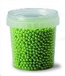 @ Dekor-Zuckerperlen klein grün-metallic (120g)