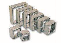 Ausstecher quadratisch/glatt 8-tlg. 40 bis 110mm