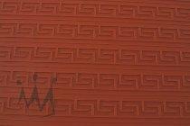 """@ Silikon-Matte mit Relief für Tortendekore """"Griechisch groß"""" rot"""