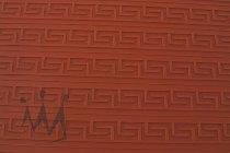 """@ Silikon-Matte mit Relief für Tortendekore """"Griechisch klein"""" rot"""