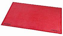 Silikon-Backmatte gelocht rot, antihaft 1/1 GN (31,5 x 52 cm)