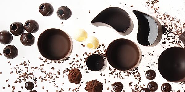 Hohlkörper | Pralinen- & Dessertschalen aus Schokolade