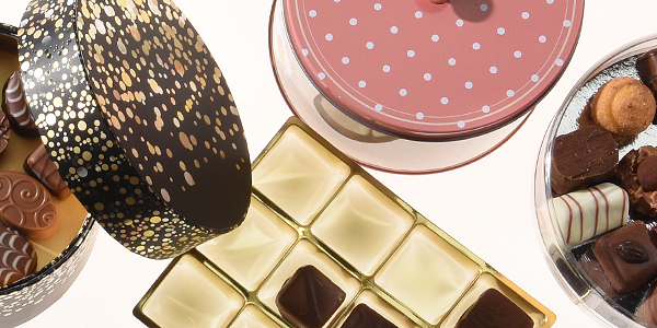 Verpackungen für Schokoladenfiguren